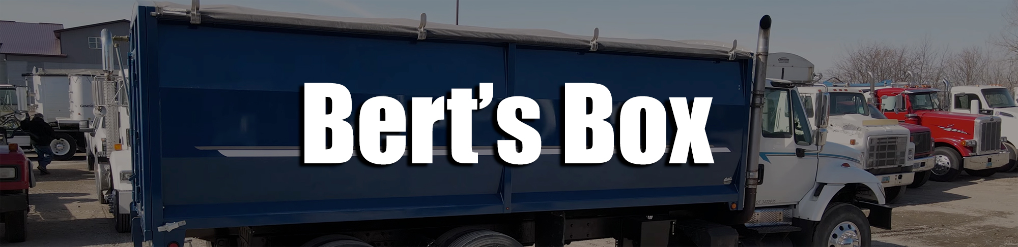 Bert's Box Header